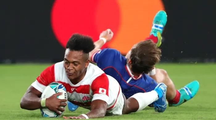 Victorious Japan kick off Asia´s first Rugby World Cup in style