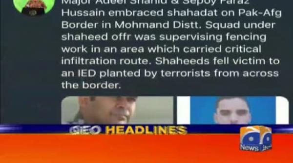 Geo Headlines - 10 PM | 20th September 2019