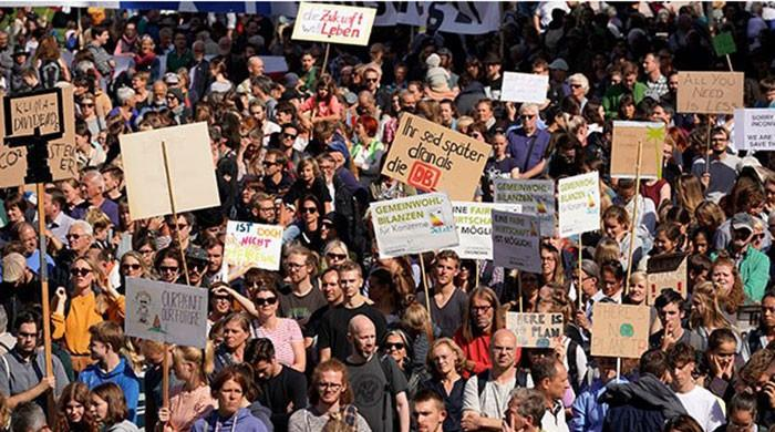 Millions protest in youth-led global climate strike