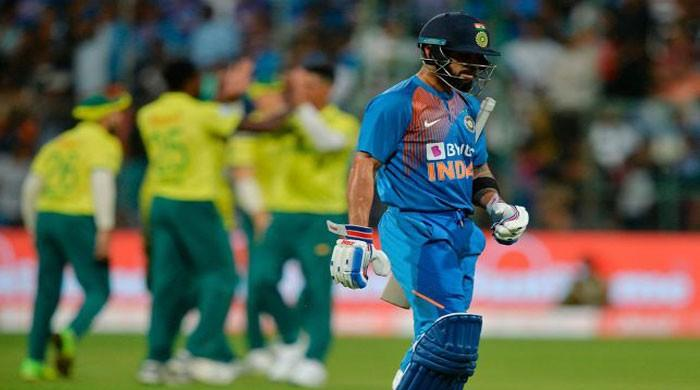 India restricted to 134-9 by South Africa in third T20
