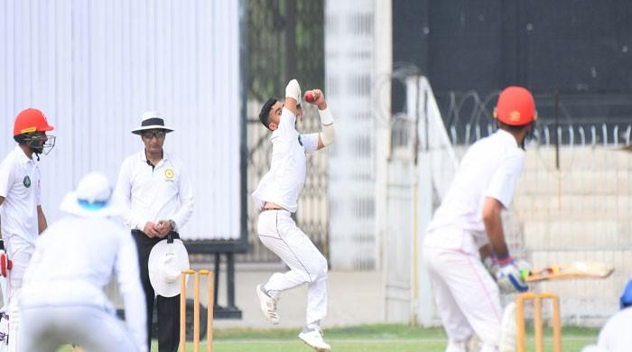 Khyber Pakhtunkhwa 97/2 against Sindh's 476/9 in Quaid-e-Azam Trophy