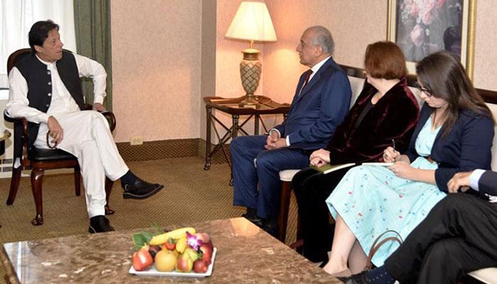 PM Imran meets US dignitaries, discusses regional security and Kashmir