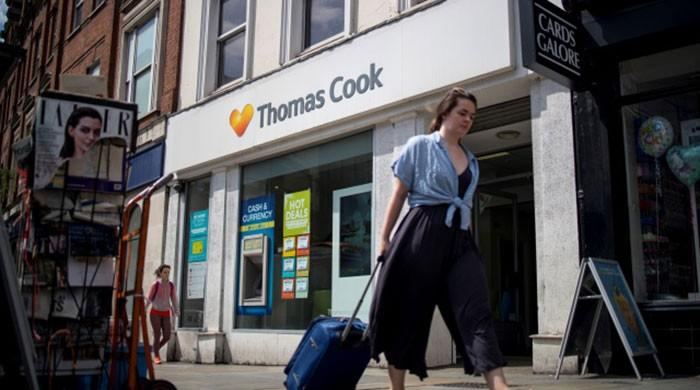 UK travel giant Thomas Cook collapses, stranding tourists
