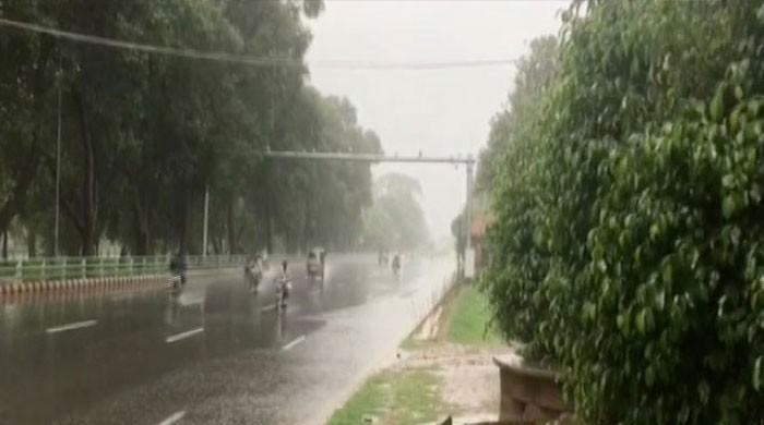 Karachi weather turns pleasant as several areas receive light to heavy showers