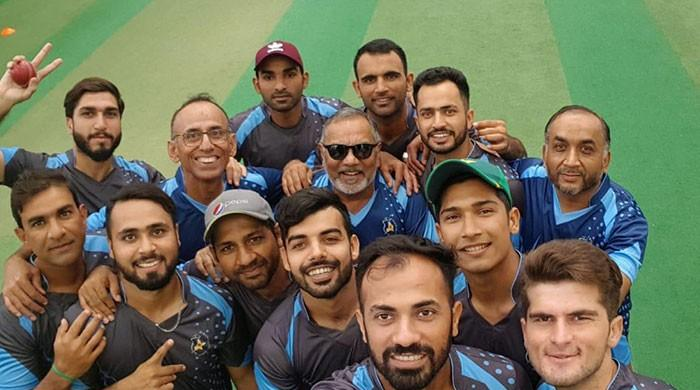 Pakistan cricket team members attend Level-1 coaching course