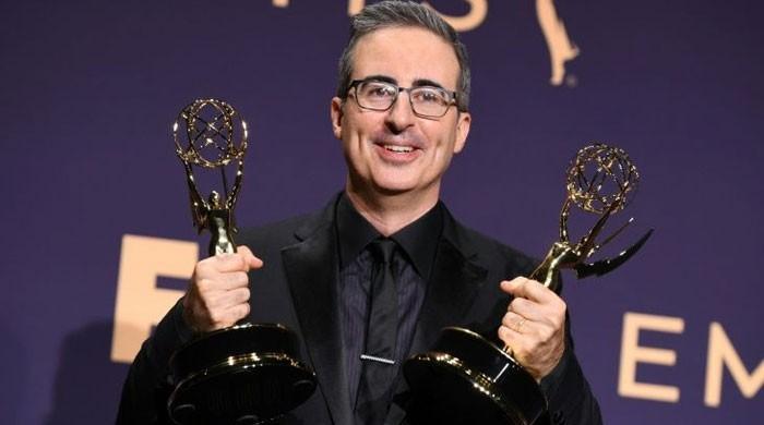 Emmys night: Big farewells, a plea for trans rights, Brits win big
