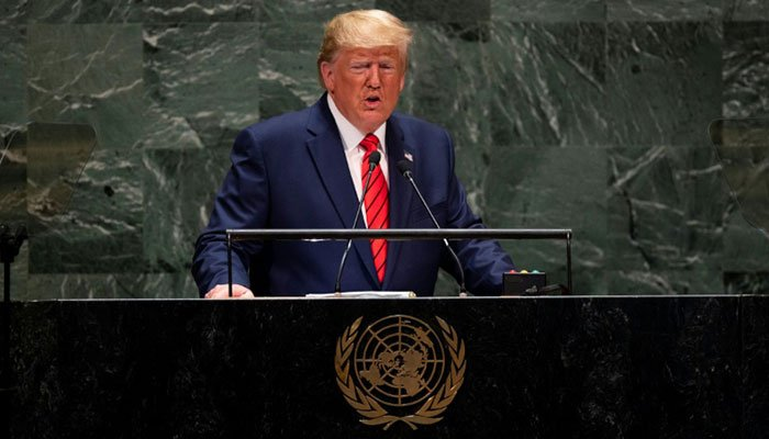 Trump lashes out at Iran, China in United Nations speech