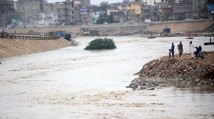 Karachi's most polluted river