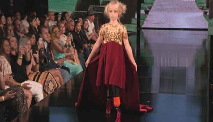 Image result for handicapped paris catwalk girl daisy may