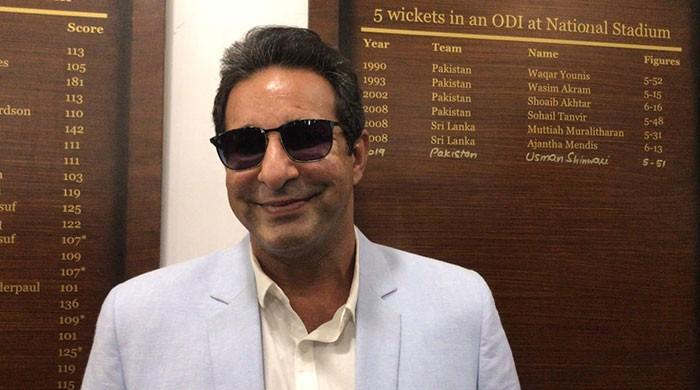 Afridi, Akram tell old NSK tales on visit to new honour boards