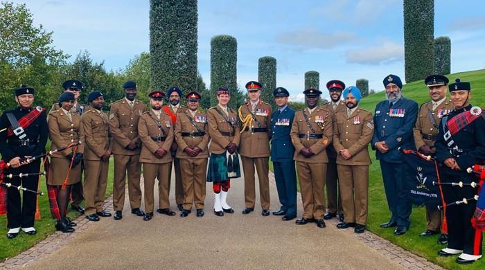 UK memorial site honours martyred and serving British-Muslim soldiers
