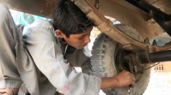 Figures of child labour surge as poverty escalates.