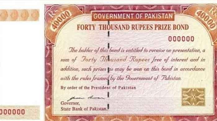 Rs 40,000 Prize Bonds worth Rs 180 billion withdrawn