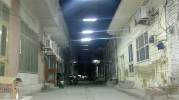 Faisalabad resident invents motion sensor lights for safety