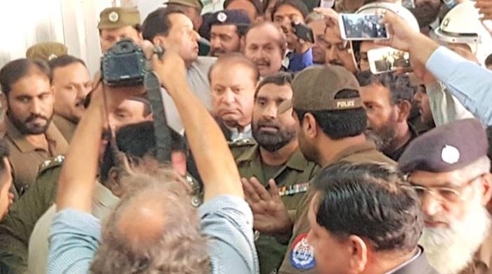 Nawaz Sharif handed over to NAB on 14-day physical remand