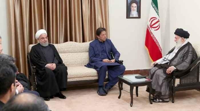 PM Imran meets Iran's Supreme Leader Ali Khamenei