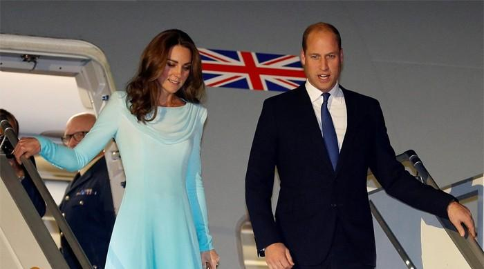 Prince William, Kate Middleton land in Pakistan for historic tour