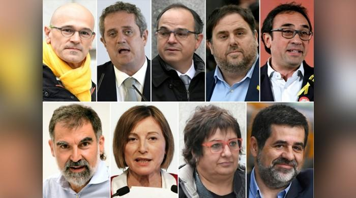 Spain jails Catalan separatist leaders for independence bid