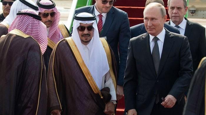 Putin visits Saudi Arabia following attacks on oil installations