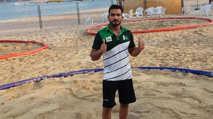 Inam Butt eyes another Gold medal for Pakistan at the World Beach Games