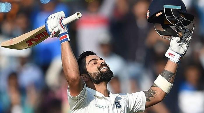 Kohli comes to within one point of Smith after smashing double ton in ICC Test rankings