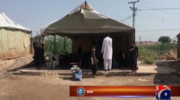 Over 400 students study without a roof after 2011 terror attack in Khyber district.