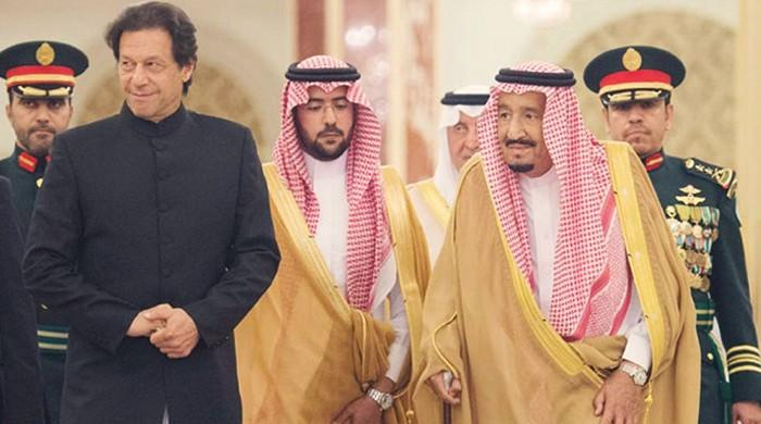 PM Imran meets Saudi King Salman, discusses matters of mutual interest