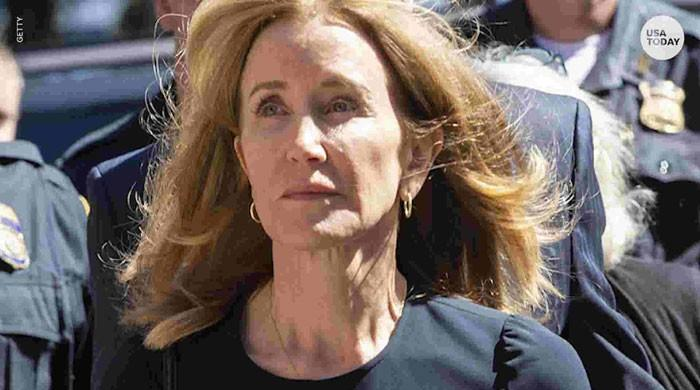 Actress Felicity Huffman sentenced for two weeks in college admissions scam