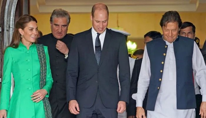 Prince William, Kate to visit Lahore today