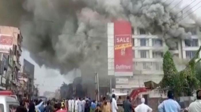 Fire at mall in Gujrat claims two lives