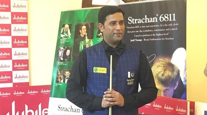 Asif downs Sajjad to win National Ranking Snooker Championship