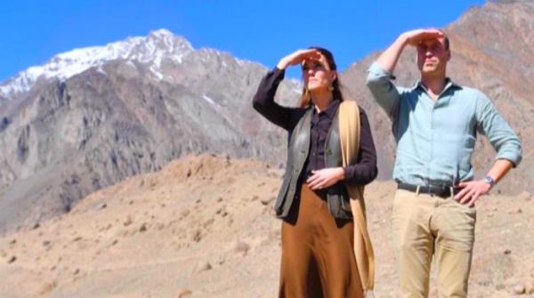 Prince William gushes over beauty of Pakistan's scenic north