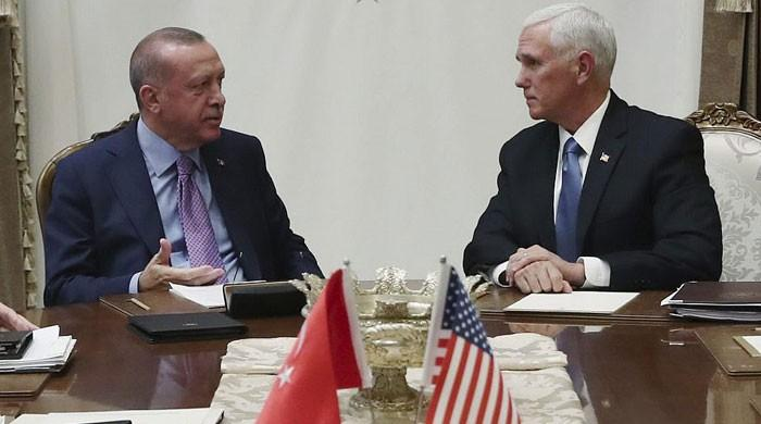 Turkey suspends Syria offensive, will end assault if Kurdish forces withdraw: Pence