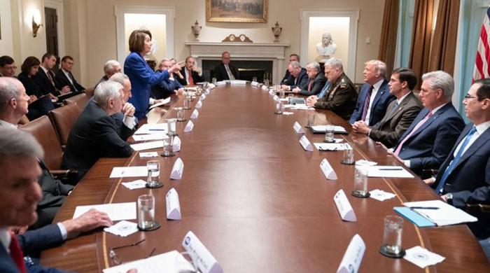 Nancy Pelosi makes Trump 'meltdown photo' her new Twitter cover