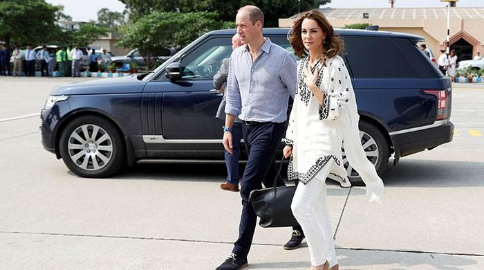 Prince William, Kate Middleton in Islamabad after mid-air storm drama