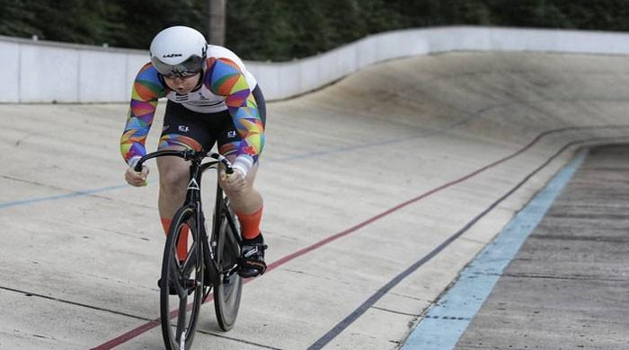 Transgender cyclist defends her right to compete in women´s sport