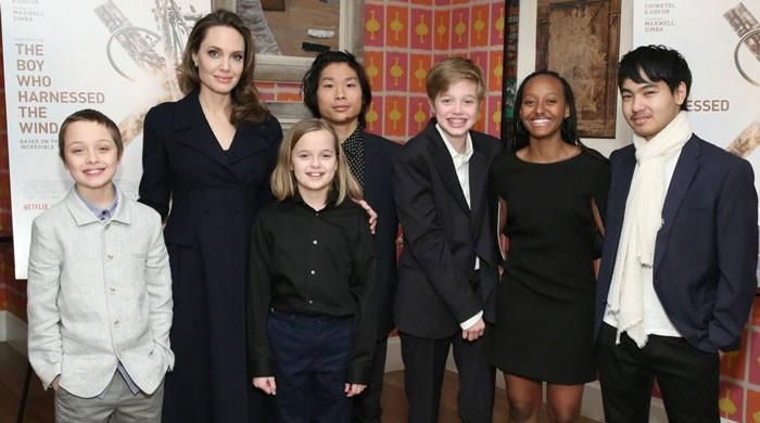 Angelina Jolie says none of her six children interested in acting