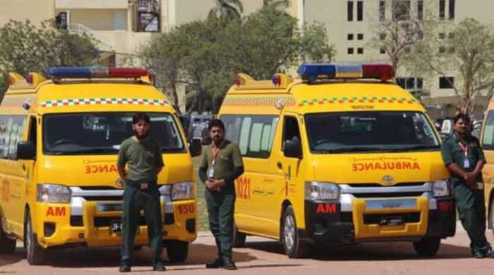 Aman ambulance service resumed after Sindh govt releases fund