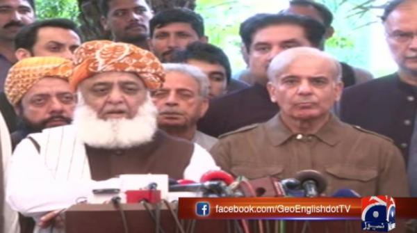 PML-N announces support for Fazl-led Azadi March