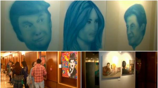 Young artists art exhibition held in Islamabad