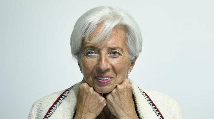 Former IMF chief Lagarde takes swipe at Trump's Twitter habits