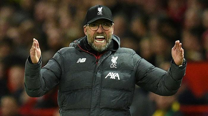 'They just defend': Klopp frustrated as stubborn Man Utd hold Liverpool