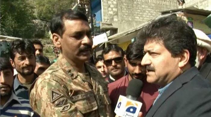 After taking diplomats and journalists to AJK, ISPR chief challenges India to do same in IoK