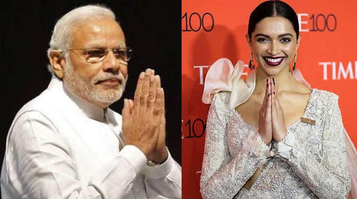 Modi lauds Deepika Padukone for 'excellently conveying' 'Bharat Ki Laxmi' initiative