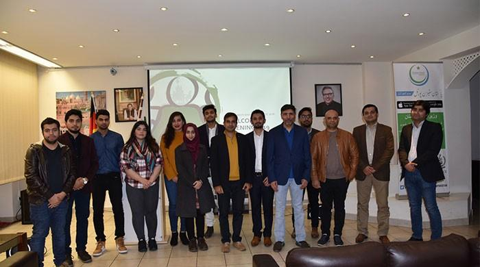 Welcome Eve for newly arrived Pakistani students in Berlin
