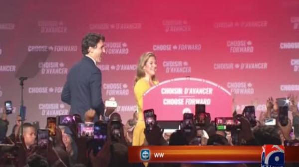 Justin Trudeau's Liberals win Canada vote, will form minority govt