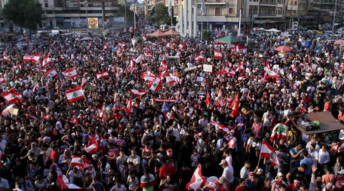 'Baby Shark' song unites angry protesters in Lebanon
