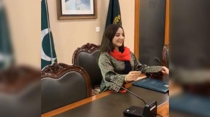 Hareem Shah's TikTok video inside top govt office stirs up controversy