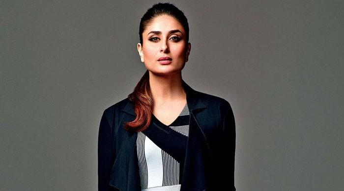 Kareena Kapoor sparkles in a black outfit in her latest photoshoot