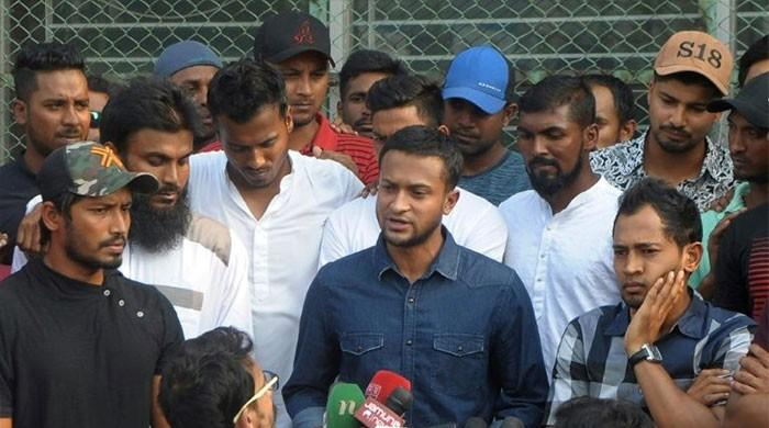 World cricketers´ group backs Bangladesh strike
